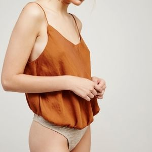 Free People Turning Heads Body Suit XS